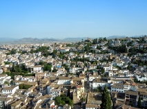 Here it is! The city of Granada.
