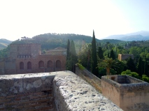 The ramparts of the Alhambra.