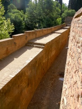 The Moors were renowned horsemen and you can see that the Alhambra has causeways made especially for horses.