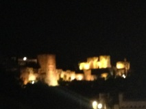 The Cueva de la Rocío Flamenco show is located on Sacromonte Hill in Granada from there you get a great view of the Alhambra at night.