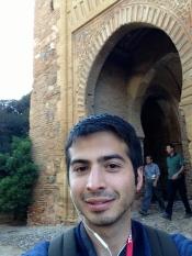 Alhambra selfie.